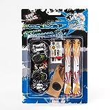 Grip & Tricks - Finger Snowboard Ski Freestyle - Pack1 Winter - Model 4