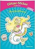 Glitzer-Sticker Malbuch. Meerjungfrauen: Mit 50 glitzernden Stickern! (Malbücher und -blöcke)