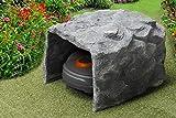 Arnusa Mähroboter Garage Felsen Design Garage Steinoptik Höhle Mower-Garage