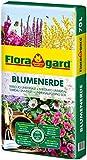 Floragard Blumenerde 70 Liter - verbesserte Rezeptur - Universalerde für Zimmer-, Balkon- und Kübelpflanzen - mit Ton und Langzeitdünger