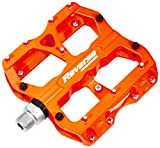 Reverse Escape Flat Fahrrad Pedal neon orange