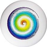 Eurodisc Ultimate Frisbee 175g Rainbow wettkampfharte Wurfscheibe mit Stabiler Flugbahn über 100 Meter Freizeitspieler und Profis gleichermaßen