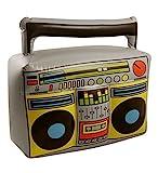 Aufblasbarer Ghetto-Blaster, Boom-Box, Musikspieler