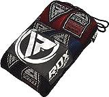 RDX Boxbandagen MMA Innenhandschuhe Elastisch Faustschutz 4,5 Meter Bandagen Mitts Muay Thai (Packung mit 3 Paare)