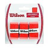 Wilson Unisex Griffband Pro Soft Overgrip, orange, 3 Stück, WRZ4040OR