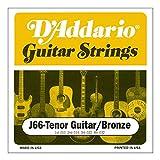 D'Addario J66 Saitensatz für Ukulele, Dulcimer, Tenor Gitarre, Oud Tenor Gitarre