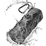 Bluetooth Lautsprecher, Duale Bass-Treiber Bluetooth Box, 24h Spielzeit und 20W Bluetooth Drahtloser Lautsprecher, IPX56 Wasserschutz, 5200 mAh Power Bank und Ingebauten Mikrofons, 20m Reichweite