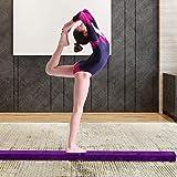 Ejoyous Schwebebalken Gymnastik Training Balance Beam zusammenfaltbar 220 cm offen und 110 cm gefaltet