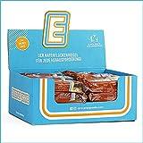 Energy Cake – Fitness Riegel aus Haferflocken mit langkettigen Kohlenhydraten – Flapjack Sattmacher für den Alltag mit weniger Zucker & unglaublichem Geschmack - Schokolade 24x 125g (3kg)