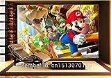 Benutzerdefinierte Große Fototapete Super Mario Wandbild Klassische Spiele 3d-comic Raumdekor Wandkunst Schlafzimmer Flur Hintergrundwand
