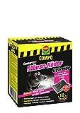 Compo Cumarax Mäuse-Köder Getreide, Anwendungsfertiger Köder gegen Mäuse, 120 g
