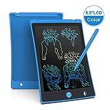 Arolun Bunte Schreibtafel LCD Kinder 8.5 Zoll Bildschirm, Elektronisches Schreibtablet mit hellere Schrift, Digitale Maltafel mit Anti-Clearance Funktion,Super als Geschenke (Blau)