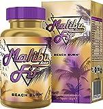 Malibu Fit Beach Burn Fatburner für schnelles Abnehmen zum Sport und als Diät Support mit der Malibu Fit Fatburner Formel, die Erfolgsformel aus Malibu für Dein gutes Körpergefühl, 60 Kapseln