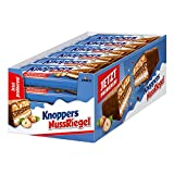 Knoppers NussRiegel (24 x 40g) / Haselnussriegel mit Karamell in Milchschokolade