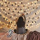 2er Pack Lichterketten,120LED 12M USB Außen/ Innen Lichterkette für Fotowand ,Mädchen Jungen Schlafzimmer, , Hochzeit, Geburtstag, Party, Weihnachten, Dekoration