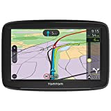 TomTom Navigationsgerät Via 52 (5 Zoll, Stauvermeidung dank TomTom Traffic, Karten-Updates Europa, Freisprechen, Sprachsteuerung, Fahrspurassistent)