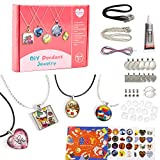 EFO SHM Bastelset Kinder Schmuckset Basteln DIY Armbänder Anhänger Halsketten für Mädchen und Jungs