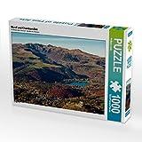 CALVENDO Puzzle Murol und Chambon-See 1000 Teile Lege-Größe 64 x 48 cm Foto-Puzzle Bild von Philippe Lardy
