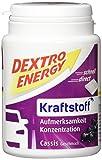 Dextro Energy Kraftstoff Cassis / Mini Traubenzucker-Täfelchen mit schnell verfügbarer Glucose in der Dose / 6 Dosen (6 x 68g)