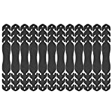 Damonday Einstellbarer Anti-Rutsch-Maske 12 Stück Verlängerungshaken, Maskenverlängerungshaken, Maskenhaken Ohrverschleiß Typ Einstellbare Schnalle (A) (A)