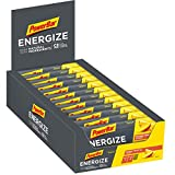 PowerBar Energize with Natural Ingredients Mango Tropical 25x55g-High Carb Energieriegel + C2MAX, Magnesium und Natrium