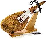 Serrano Schinken Reserva Duroc + Schinkenhalter + Messer 6.5 - 7 Kg - Spanischer Schinken Jamonprive