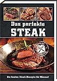 AV Andrea Verlag Das perfekte Steak im Geschenke Set groß stabil hochwertig mit original Jack Daniels BBQ Sauce oder Grillzange mit Flaschenöffner (Das perfekte Steak)