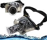 Navitech Schwarze wasserdichte Unterwassergehäuse Kasten/Beutel-trockener Beutel für dasSony A7S II