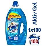 Spee Aktiv Gel, Flüssigwaschmittel, 100 Waschladungen mit mehr Frische-Gefühl