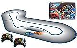 Hot Wheels FBL83 Ai Intelligent Race System mit 2 Spielzeugautos und 2 Fernsteuerungen, Spielzeug ab 8 Jahren