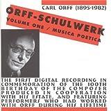 Musik zur Nacht: Die arme Bettelfrau singt ihr Kind in Schlaf (Carl Orff), für Mezzosopran, Tenorblockflöte, Glockenspiel, Violine und Violoncello Musik für Kinder IV, Nr. 7 (Vor- und Nachspiel), 1953, Musik für Kinder IV, Nr. 44
