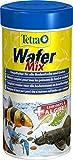 Tetra Wafer Mix - Fischfutter für alle Bodenfische (z.B. Welse) und Krebse, für gesundes Wachstum und eine bessere Widerstandskraft, versch. Größen