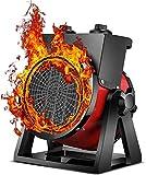 SXZHSM Heizlüfter 3000 Watt - Keramik Heizstrahler - Turbo Elektroheizgebläse Mit Überhitzungsschutz - 2 Heizstufen - Für Haus Werkstatt Wohnung Garage Heizgerät,B