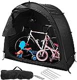 GYPPG Fahrradzelt Aufbewahrungsschuppen Zelt mit Fenster, 190T Multifunktionales wasserdichtes Sonnenschutzzelt für den Außenbereich zum Aufbewahren Angeln, Insektenbekämpfung Platzspare