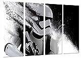 Wandbild - Star Wars, Darth Vader Army Helm, 131 x 62 cm, Holzdruck - XXL Format - Kunstdruck, ref.26641
