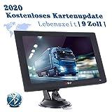 XGODY X4BT Navigation für Auto,9 Zoll Bluetooth LKW GPS,8GB PKW Motorrad Navi,Navigationsgerät mit POI Blitzerwarner,Fahrspurassistent,2020 EU&UK Lebenszeit Kostenloses Kartenupdate