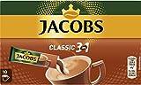 Jacobs Kaffeespezialitäten 3 in 1, 10 Sticks mit Instant Kaffee für 10 Getränke