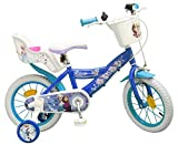 TOIMS Kinder-Fahrrad, Design: Die Eiskönigin, Jungen, VE-VE-FR-16-01-S, blau, 16'
