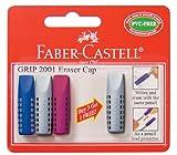 Faber-Castell GRIP 2001 Dreikantradierer, 4 Stück