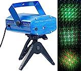 Lunartec Lichtorgel: Indoor-Laser-Projektor, Sternenmeer-Effekt, Sound-Steuerung, grün/rot (Laser Light)