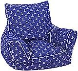 KNORRTOYS.COM 68207 Knorrtoys 68207-Kindersitzsack-Maritim Blue Kindersitzsack