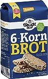 Bauckhof Bio Bauck Demeter 6-Kornbrot (6 x 500 gr)