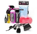 Muc-off Bike Wash Ultimate 284 Reinigungsmittel Kit, Schwarz, 11 Stück