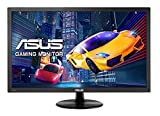 ASUS VP228HE 21,5-Zoll-FHD (1920 x 1080) Gaming-Monitor, 1ms, HDMI, D-Sub, Blaues Licht, flimmerfrei, TÜV-zertifiziert - Schwarz