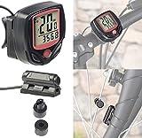 PEARL sports Fahrradcomputer: Digitaler 15in1-Fahrrad-Computer mit LCD-Display & Radsensor, IP44 (Tachometer)