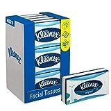 Kleenex 8824 Kosmetiktücher, 3-lagige, 12 Kartons x 72 Tücher, weiß