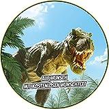 Tortenaufleger Geburtstag Tortenbild Zuckerbild Oblate Motiv: Dino Dinosaurier (Oblatenpapier)