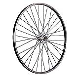 Taylor-Wheels 28 Zoll Vorderrad Laufrad Büchel Kastenfelge Aluminiumnabe schwarz