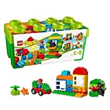 LEGO 10572 DUPLO Große Steinebox, Kreatives Lernspielzeug