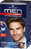 Schwarzkopf Men Perfect 60 Haartönung natur mittelbraun, hochwertige Haarfarbe gegen graue Haare 3er Pack (3 x 80ml)
